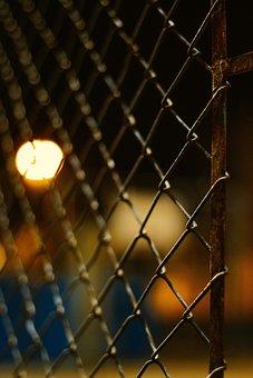Fence, Rust, Rusty, Barrier, Metal, Plaque, Old
