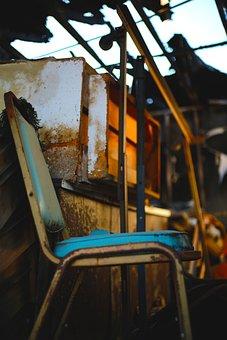 Damaged, Storm, Flood, Fire, Real Estate, School, Old