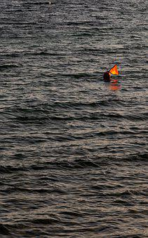 Sea, Pattern, Texture, Background, Wallpaper, Buoy