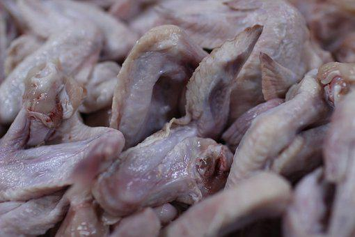 Chicken Wings, Chicken Meat, Meat, Raw Chicken