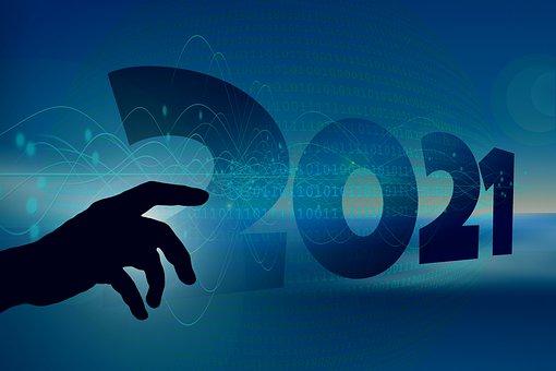 New Year, Years Beginning, Year, Digitization, Binary