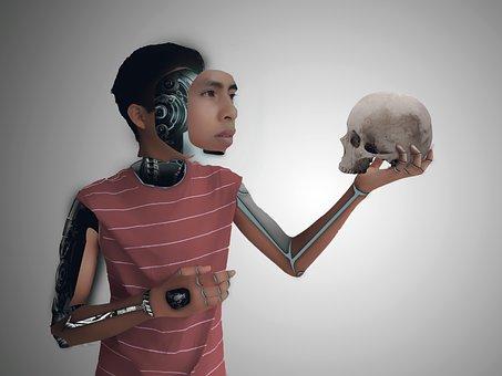 Robot, Cyborg, Brain, Robots, Technology, Future