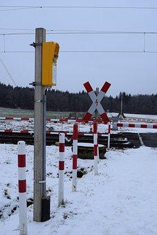 Train, Sign, Warning Sign, Station, Transport, Travel