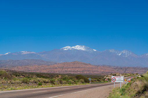 Argentina, View, Distant View, Andes, Height, Vision