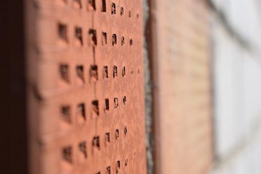 Brick, Brick Wall, Texture, Red, Masonry, Old