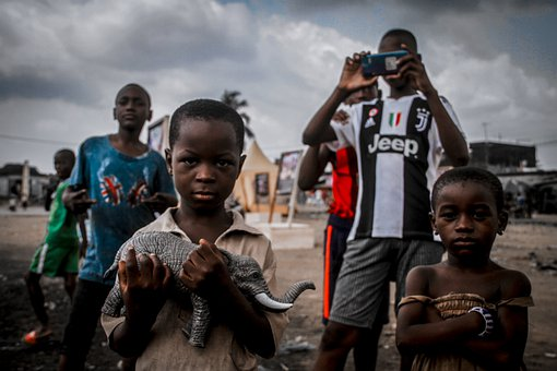 Children, African, Portrait, Youth, Kids, Young
