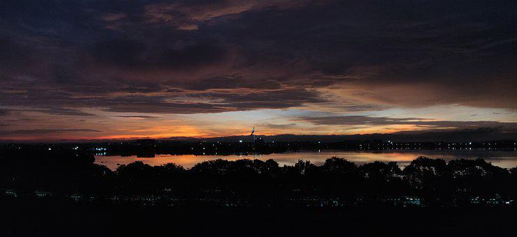 Sunrise, Scenery, Beautiful