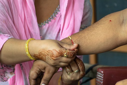Wristband, Thread, Brother, Sister, Traditional, Rakhi