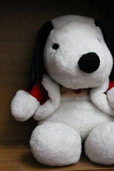 Toy, Dog, Stuffed Toy, Plush Toy, Snoopy, Cute, Fluffy