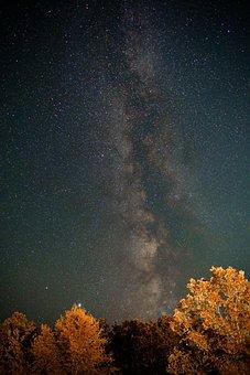 Milky Way, Space, Galaxy, Universe, Night, Stars