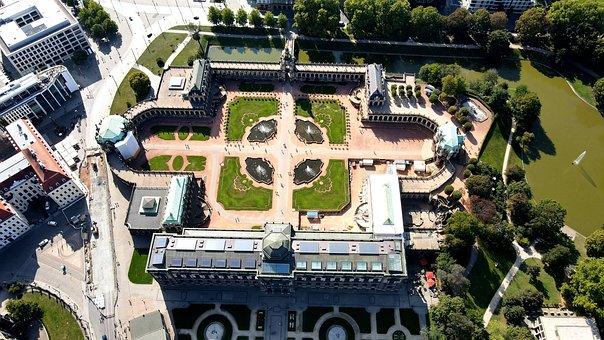 Zwinger, Palace, Gardens, Landmark, Historic