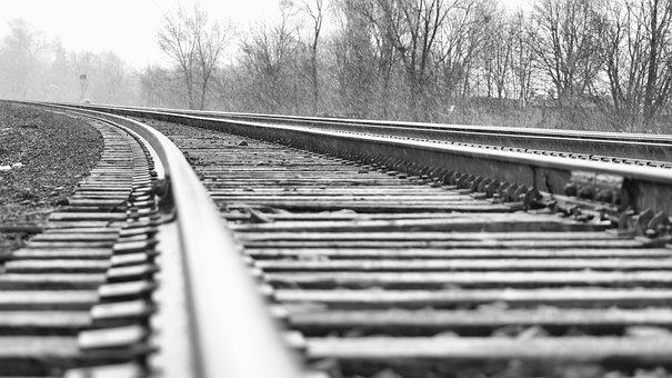 Railway, Train Tracks, Railroad, Rails, Transportation