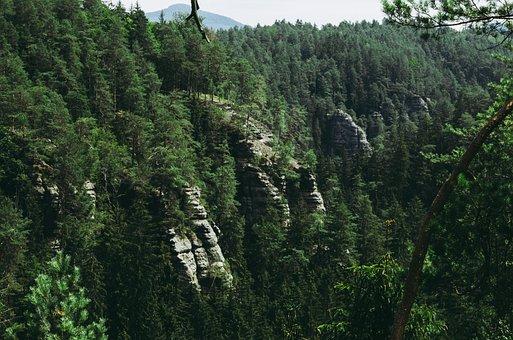 Rocks, Valley, Landscape, Nature, Stone, Scenic