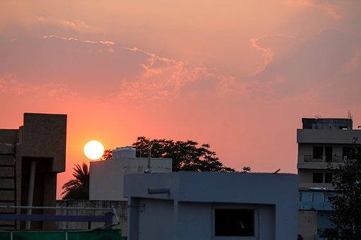 Sky, Sunset, Nature, Beach, Landscape, Sea, Evening
