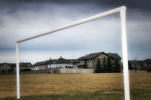 Goal Post, Soccer, Sport