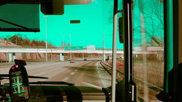 Road, Bus, Traffic, Lane, Finnish, Journey, The Vehicle