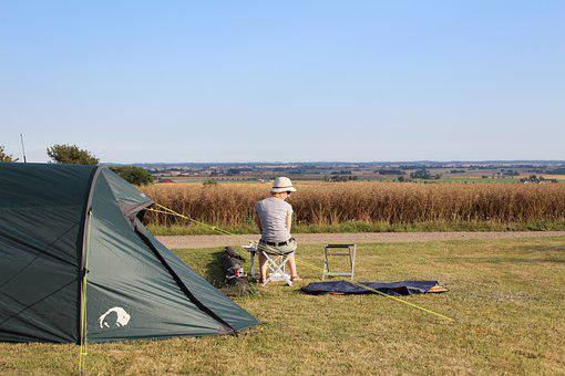Camping, Wild, Nature, Tent, Wilderness, Landscape