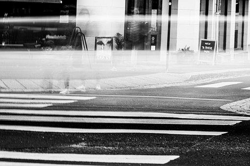 Street, Pedestrian Crossing, Road, City, Crosswalk
