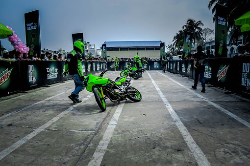 Man, Motorcycle, Track, Competition, Stunt, Road Riderz