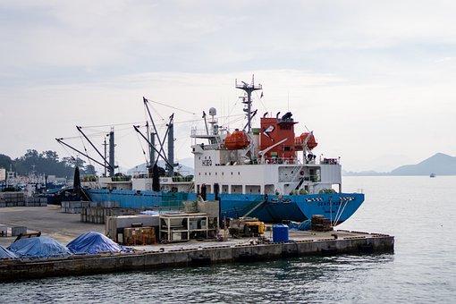 Ship, Boat, Trade, Port, Dock, Logistics, Industrial