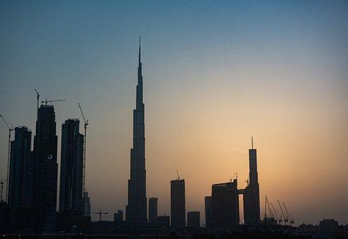 Constructions, Dubai, Uae, Architecture, Construction