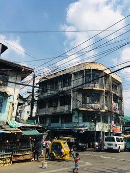 Buildings, Street, Road, Traffic, Muslim Town, Islam