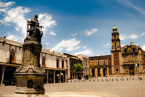 Plaza De Santo Domingo, Cathedral, Square, Statue