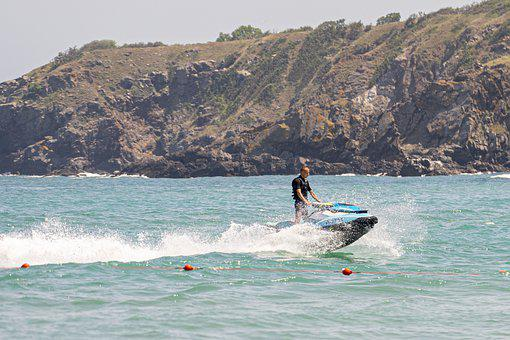 Jet Ski, Water Sports, Sea, Sports, Watercraft, Splash