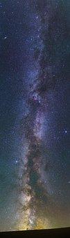 Starry Sky, The Night Sky, Galaxy