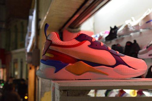 Tennis, Shoe, Footwear, Feet, Teen, Walk, Sale, Light