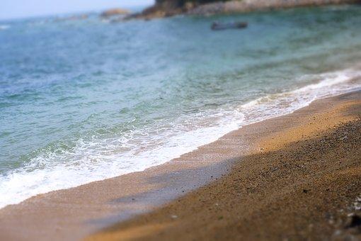 Ocean, Beach, Sand, Waves, Shore, Vacation, Coast