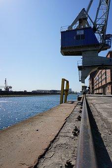 Rhine Harbor, Karlsruhe, Industry, Port, Architecture