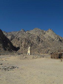 Stone Desert, Bedouin Village, Sahara, Desert