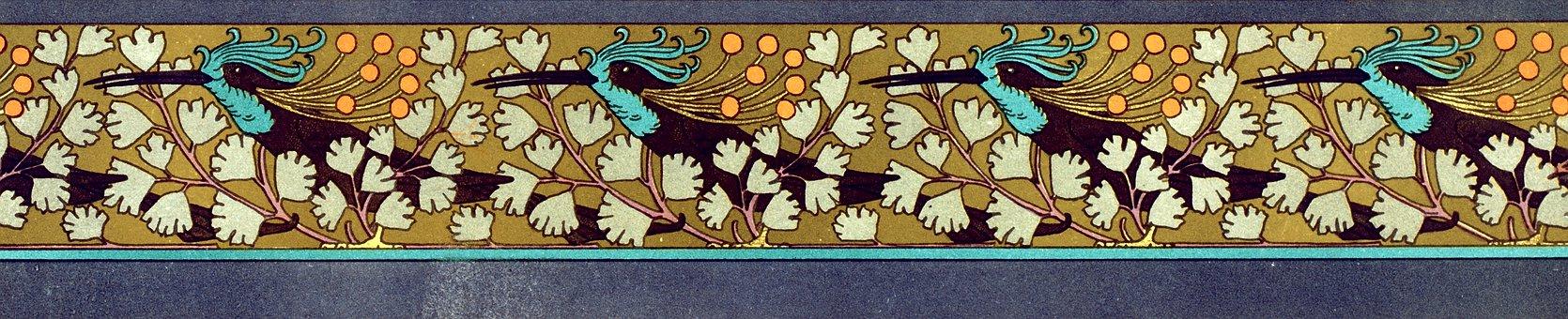 Vintage, Decor, Decorative, Ornamental, Flowers, Floral