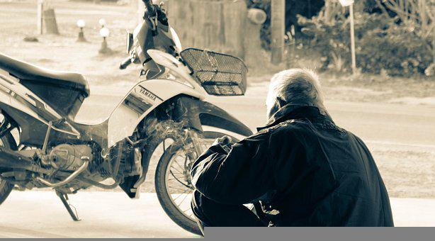 Grandpa, Old Man, Nature, Human, Person