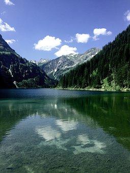 Auwaldsee, Oberstdorf, Bavaria, Water, Allgäu, Nature