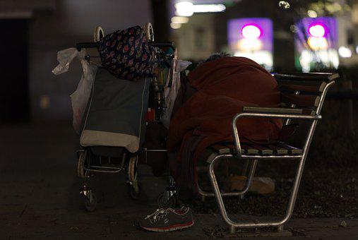 Zurich, Poor, People, Poverty, Depression, Hunger