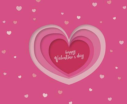 Valentine's Day, Love, Heart, Map, Romantic, Birthday
