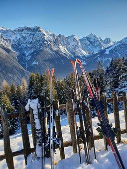 Mountains, Snow, Ski, Skiing, Runway, Panorama