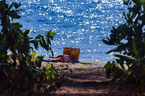 Sea, Holiday, Bag, Beach, Travel, Summer, Ocean
