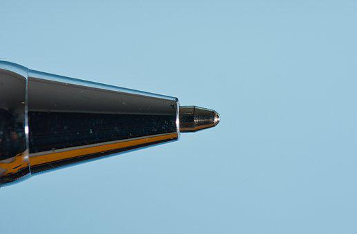 Technology, Pen, Light, Tip, Invention, Writing, Macro