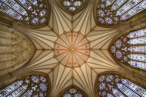 York Minster, Cathedral, Interior, Ceiling