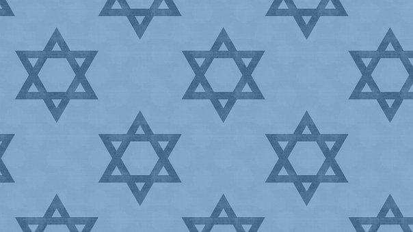 Star Of David, Pattern, Wallpaper, Seamless
