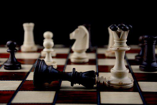 Chess, Board Game, Strategy, Chess Board