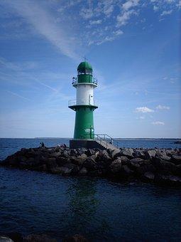 Lighthouse, Sea, Coast, Ocean, Tower, Building