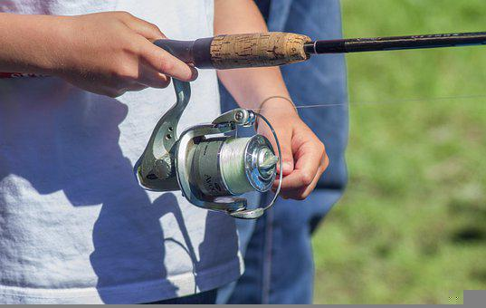 Fisherman, Fishing Rod, Reel, Hobbies, Fishing