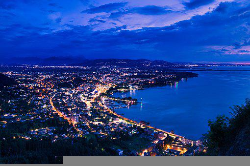 Bregenz, Austria, Lake Constance, Landscape, Sky
