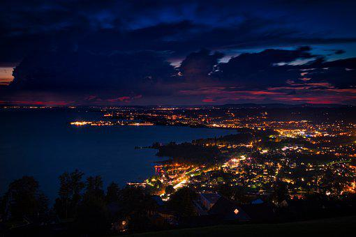 Lindau, Lake Constance, L, Water, Germany, Port