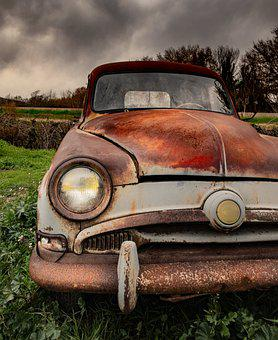 Old, Car, Vintage, Retro, Classic, Cuba