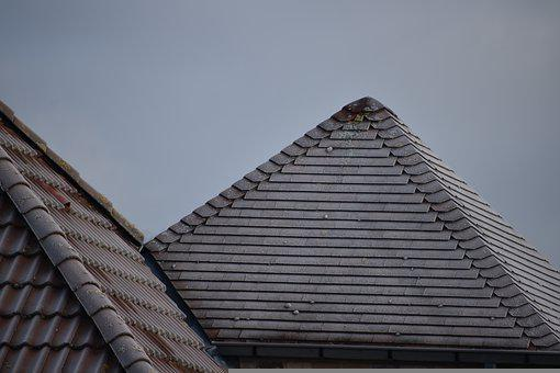 Roof Tiles, Freeze, Frozen Roofs, Roofs, Roofing